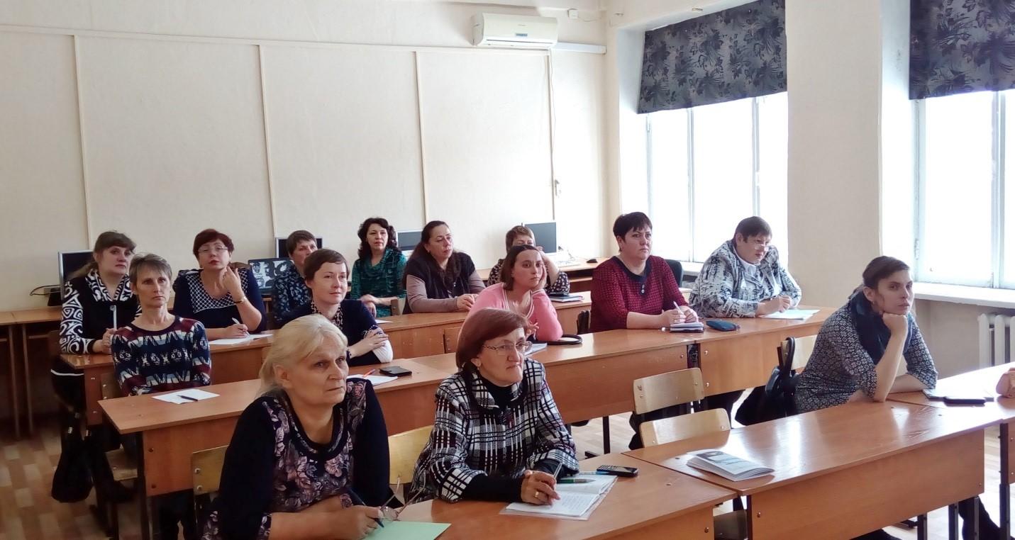 Состоялся семинар для библиотекарей «Слоган в школьной библиотеке»