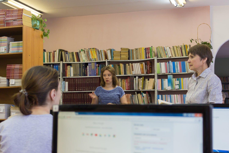 Состоялось методическое объединение школьных библиотекарей «Формы библиотечной отчётности: проблемы и приёмы заполнения»